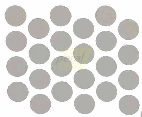 Заглушка самоклеющаяся на минификс 0288 серая