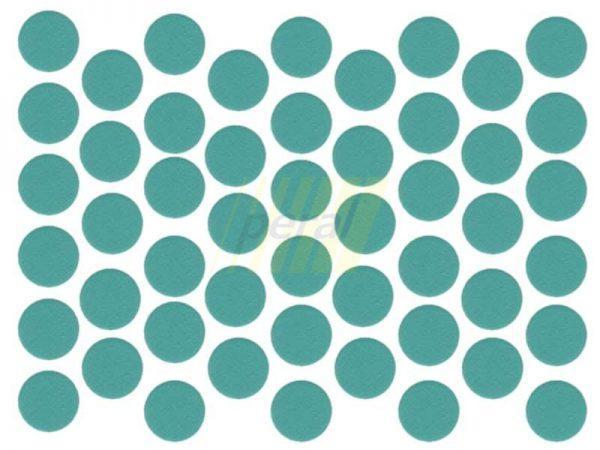 Заглушка самоклеющаяся для конфирмата 0412 терра зеленая