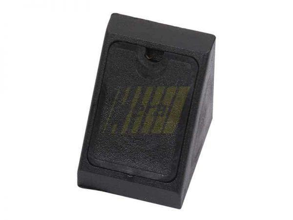 Уголок одинарный пластиковый (02) черный