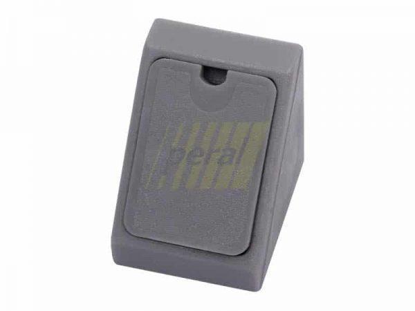 Уголок одинарный пластиковый (03) серый