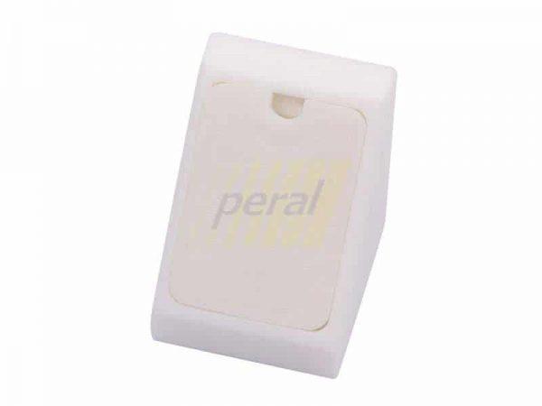 Уголок одинарный пластиковый (02) белый