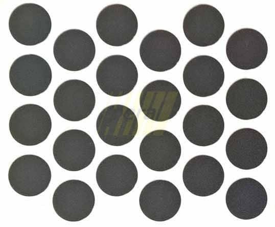 Заглушка самоклеющаяся на минификс 2110 черная