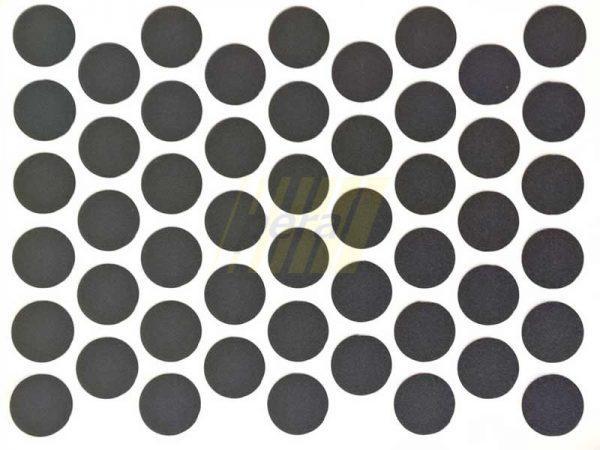Заглушка самоклеющаяся для конфирмата 2110 черная