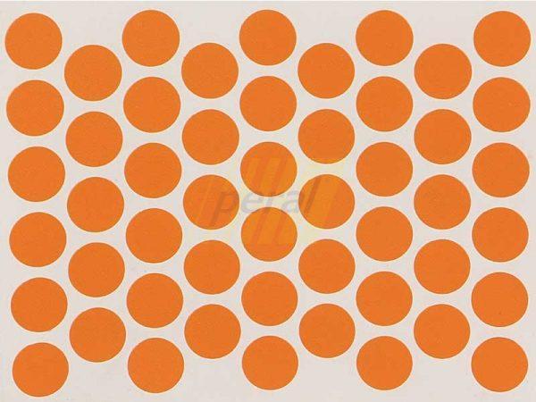 Заглушка самоклеющаяся для конфирмата 5292 оранжевая