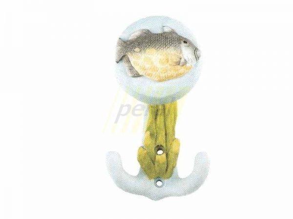 Ручка мебельная-крючок 54000 Рыбка