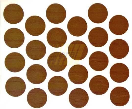 Заглушка самоклеющаяся на минификс 7059 орех италия
