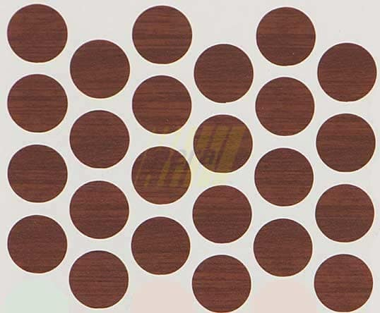 Заглушка самоклеющаяся на минификс 7226 орех экко