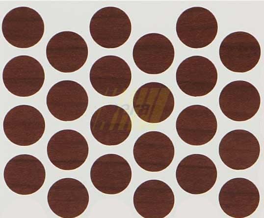 Заглушка самоклеющаяся на минификс 7455 орех болонья темный