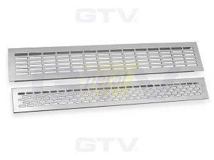 Решетка вентиляционная GTV 480х60 мм алюминий