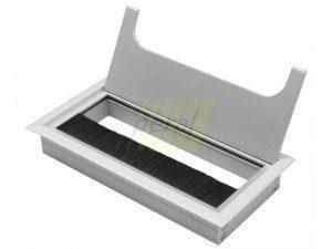 Заглушка кабель-канала GTV 80×100 мм алюминий