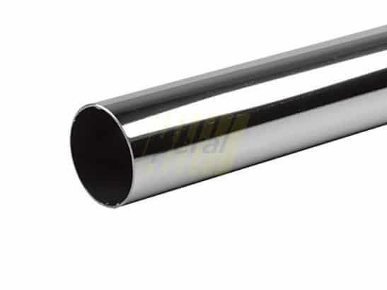 Труба d=50 мм длиной 3 метра хром