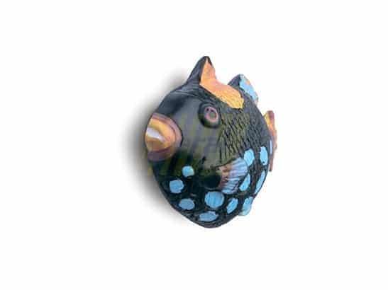 Ручка мебельная 26311 Рыбка голубая
