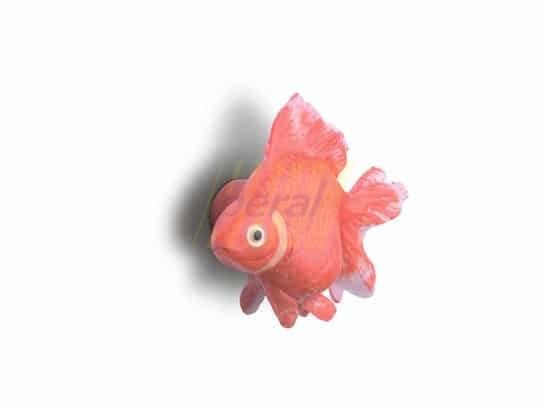 Ручка мебельная 26309 Рыбка красная