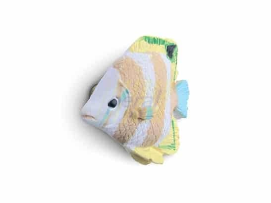 Ручка мебельная 26109 Рыбка желтая
