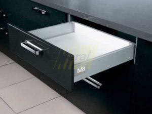 Тандембокс GTV Modernbox низкий серый 500 мм