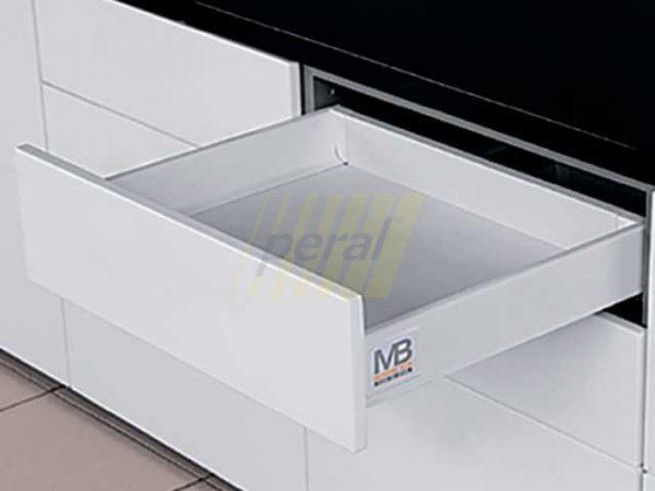 Тандембокс GTV Modernbox низкий белый