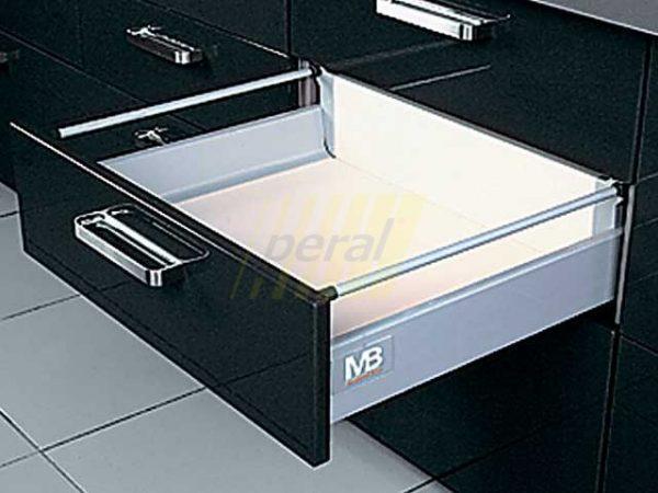 Тандембокс GTV Modernbox средний серый 400 мм