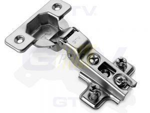 Петля мебельная полунакладная GTV ZP-BICN08H-0BE