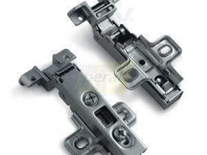 Петля мебельная GTV для алюминиевых рамок накладная ZP-RALUH2-00