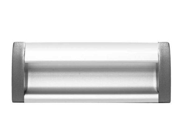 Ручка мебельная GTV UA OO 326/096 алюминий