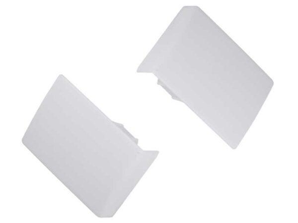 Заглушка для навеса Strong GTV (левый+правый) белый