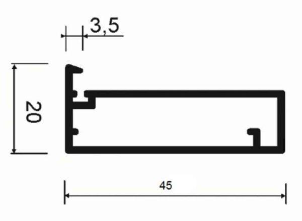 Рамочный профиль АДС P30