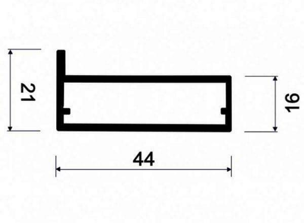 Рамочный профиль АДС P34