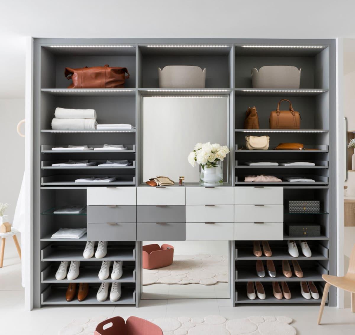 g1 1 2 - Гардеробные комнаты - обязательный элемент современной квартиры