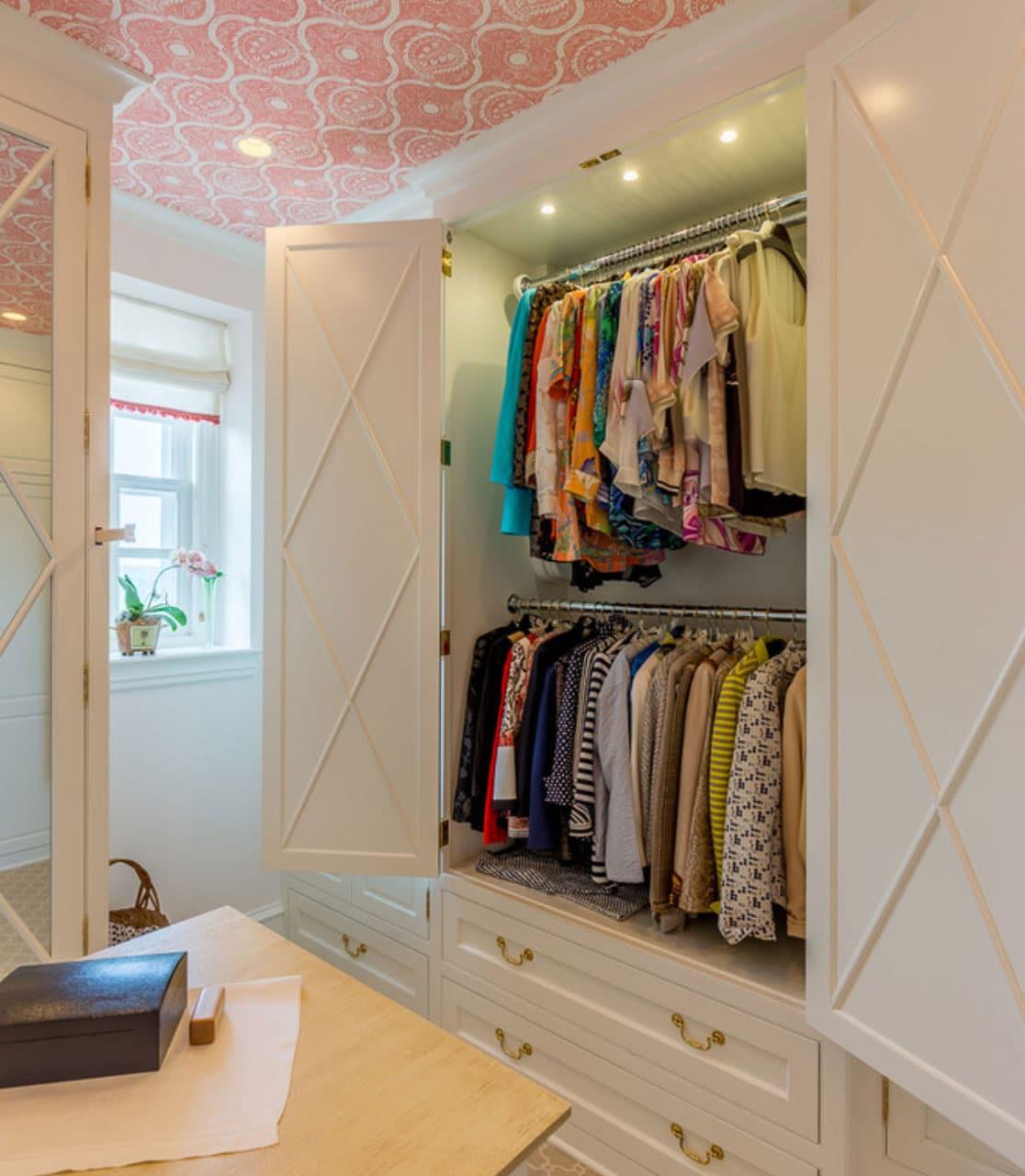 g10 1 - Гардеробные комнаты - обязательный элемент современной квартиры